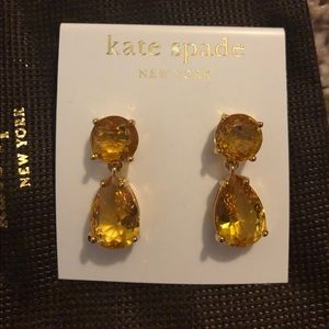 Kate Spade 14K gold filled earrings